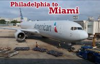 Full Flight: American Airlines B767-300 Philadelphia to Miami (PHL-MIA)