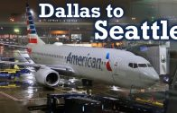 Full-Flight-American-Airlines-B737-800-Dallas-to-Seattle-DFW-SEA