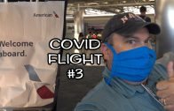 "What's it like flying with American Airlines during Covid? ""First Class"" to Dallas-Fort Worth"