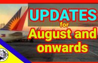 Philippine Airlines Flights for August and onward | International and Domestic Flight Updates